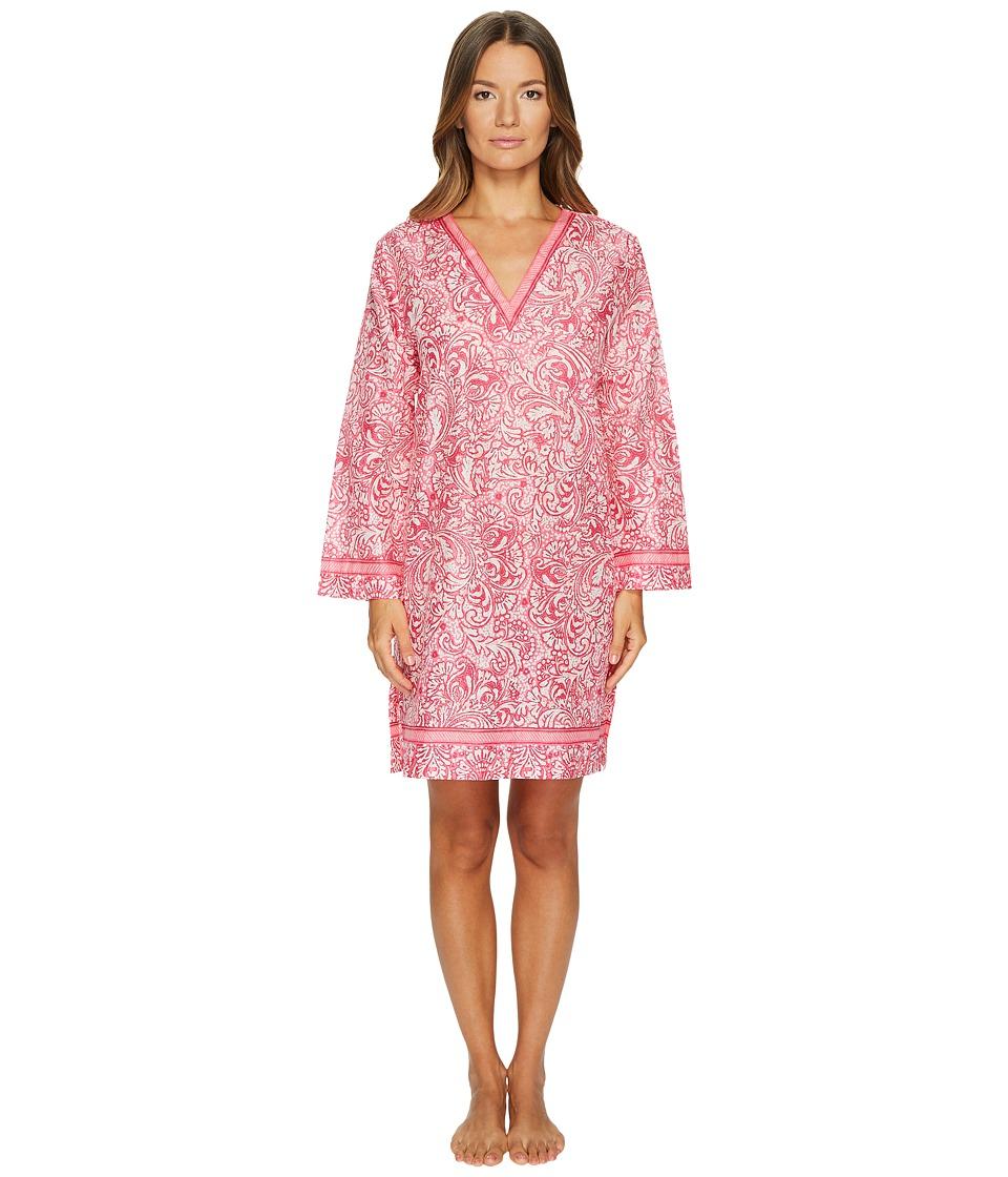 Oscar de la Renta Pink Label - Printed Cotton Lawn V