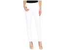 Pull-On Slim Ankle in White