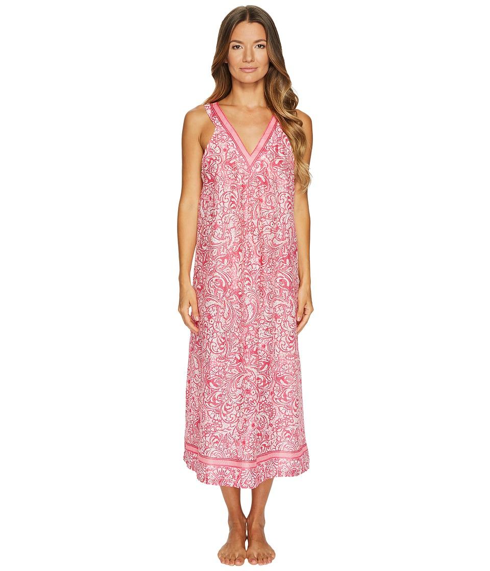 Oscar de la Renta Pink Label - 48 Printed Cotton Lawn Gown