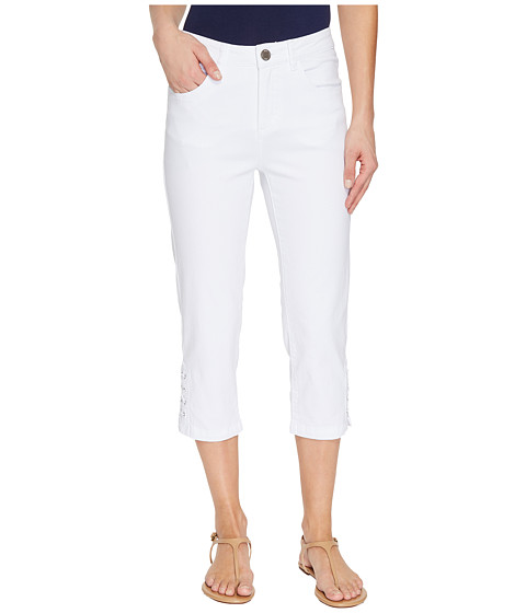 FDJ French Dressing Jeans Olivia Capris in White
