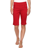 FDJ French Dressing Jeans - D-Lux Denim Pull-On Bermuda in Red