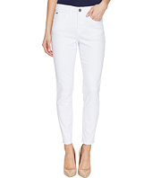 FDJ French Dressing Jeans - Olivia Fashion Slim Ankle Zigzag & Frayed Hem in White