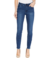 FDJ French Dressing Jeans - Olivia Fashion Slim Ankle Frayed Hem in Medium Indigo