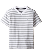 Tommy Hilfiger Kids - Felix V-Neck Tee (Toddler/Little Kids)
