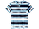 Bruce Stripe Crew Tee with Pocket (Toddler/Little Kids)