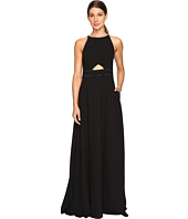 Aidan Mattox - Heat Set Crepe Cut Out Gown