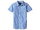 Tommy Hilfiger Kids - Charlie Short Sleeve Plaid Shirt (Toddler/Little Kids)