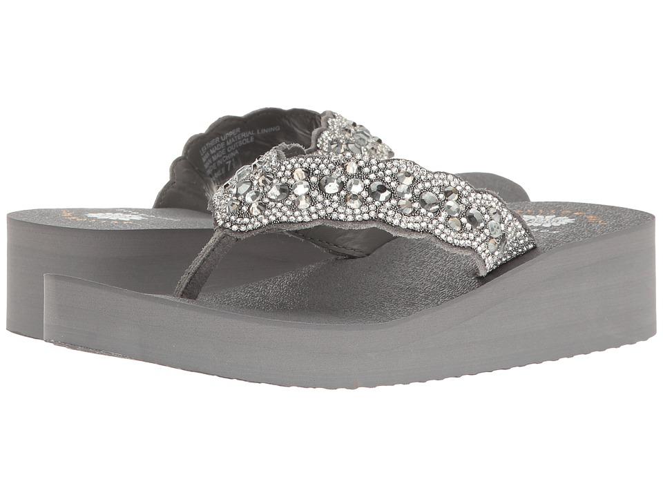 Yellow Box Sparkle (Gray) Women's Shoes