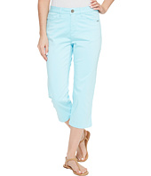 FDJ French Dressing Jeans - Olivia Sateen Capris in Aqua
