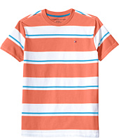 Tommy Hilfiger Kids - James Stripe Crew Tee (Toddler/Little Kids)