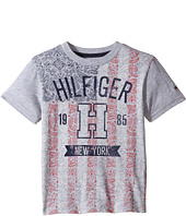 Tommy Hilfiger Kids - Paisley Flag Tee (Toddler/Little Kids)