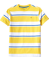 Tommy Hilfiger Kids - James Stripe Crew Tee (Big Kids)
