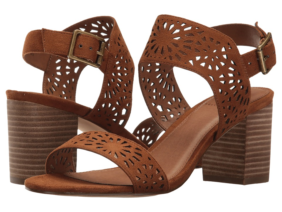 Yellow Box Carilena (Chestnut) High Heels