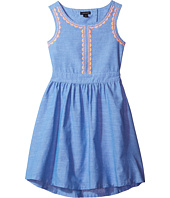 Tommy Hilfiger Kids - Chambray Embroidered Dress (Little Kids/Big Kids)