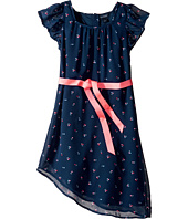 Tommy Hilfiger Kids - Cherry Printed Chiffon Dress (Little Kids/Big Kids)