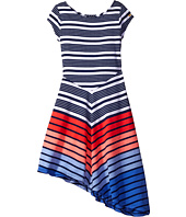Tommy Hilfiger Kids - Yarn-Dye Multi Directional Stripe Dress (Big Kids)