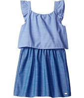 Tommy Hilfiger Kids - Two-Tone Chambray Top/Skirt Dress (Little Kids/Big Kids)