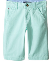 Tommy Hilfiger Kids - Chester Twill Shorts with Oxford (Big Kids)