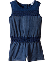 Splendid Littles - Indigo Romper with Lace (Toddler)