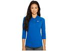 Nike - Court Dry 3/4 Sleeve Half-Zip Tennis Top