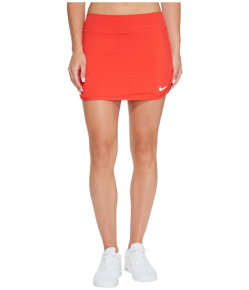 Nike Pure Skirt (Action Red/White) Women
