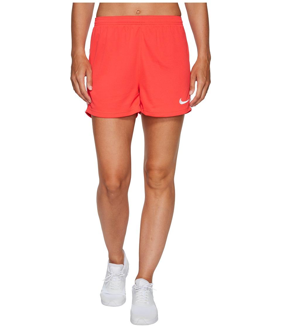 Nike Dry Academy Soccer Short (Siren Red/White/White) Women