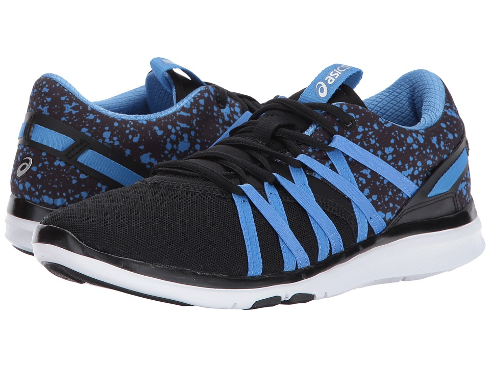 Asics Gel-Fit YUI (Black/Regatta Blue/Silver) Women's Cro...