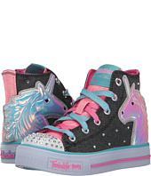 SKECHERS KIDS - Twinkle Toes - Shuffles 10791L Lights (Little Kid/Big Kid)