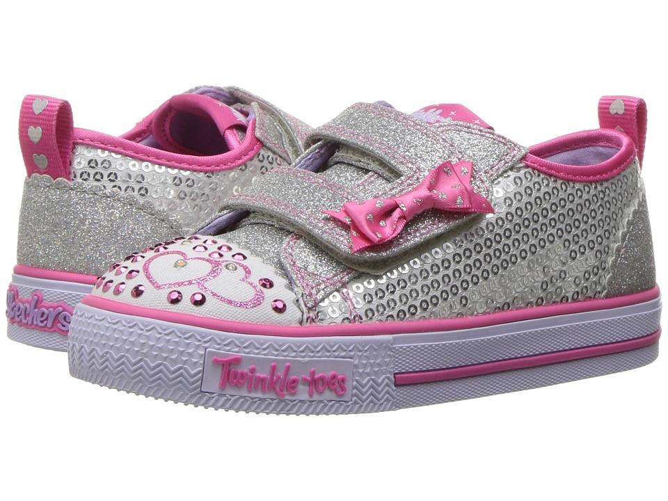 Skechers KIDS - Twinkle Toes - Shuffles Itsy Bitsy 10764N...