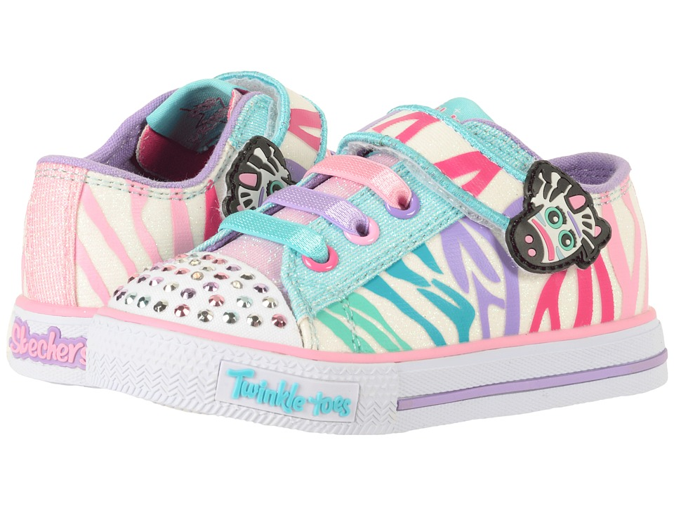 Skechers KIDS - Twinkle Toes - Shuffles 10772N Lights (To...