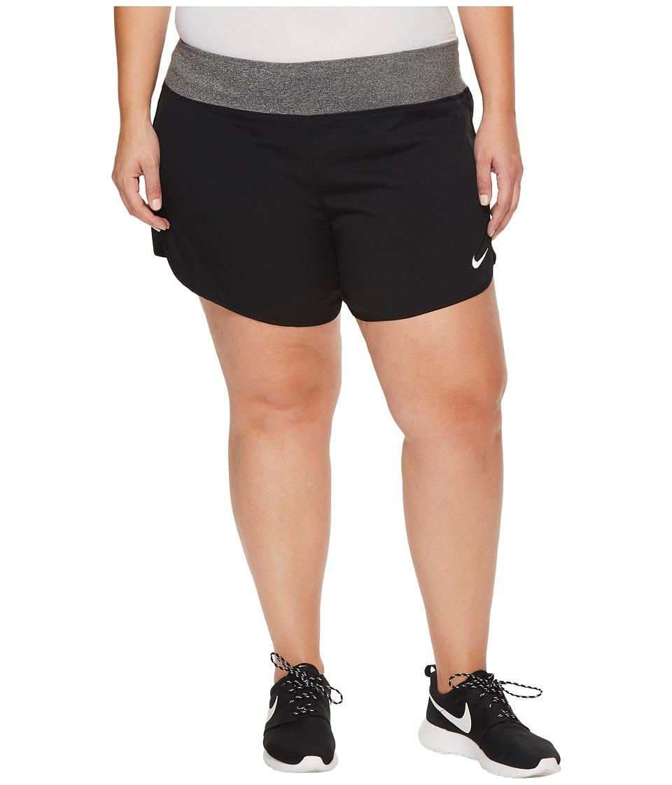 Nike Flex 5 Running Short (Size 1X-3X) (Black) Women