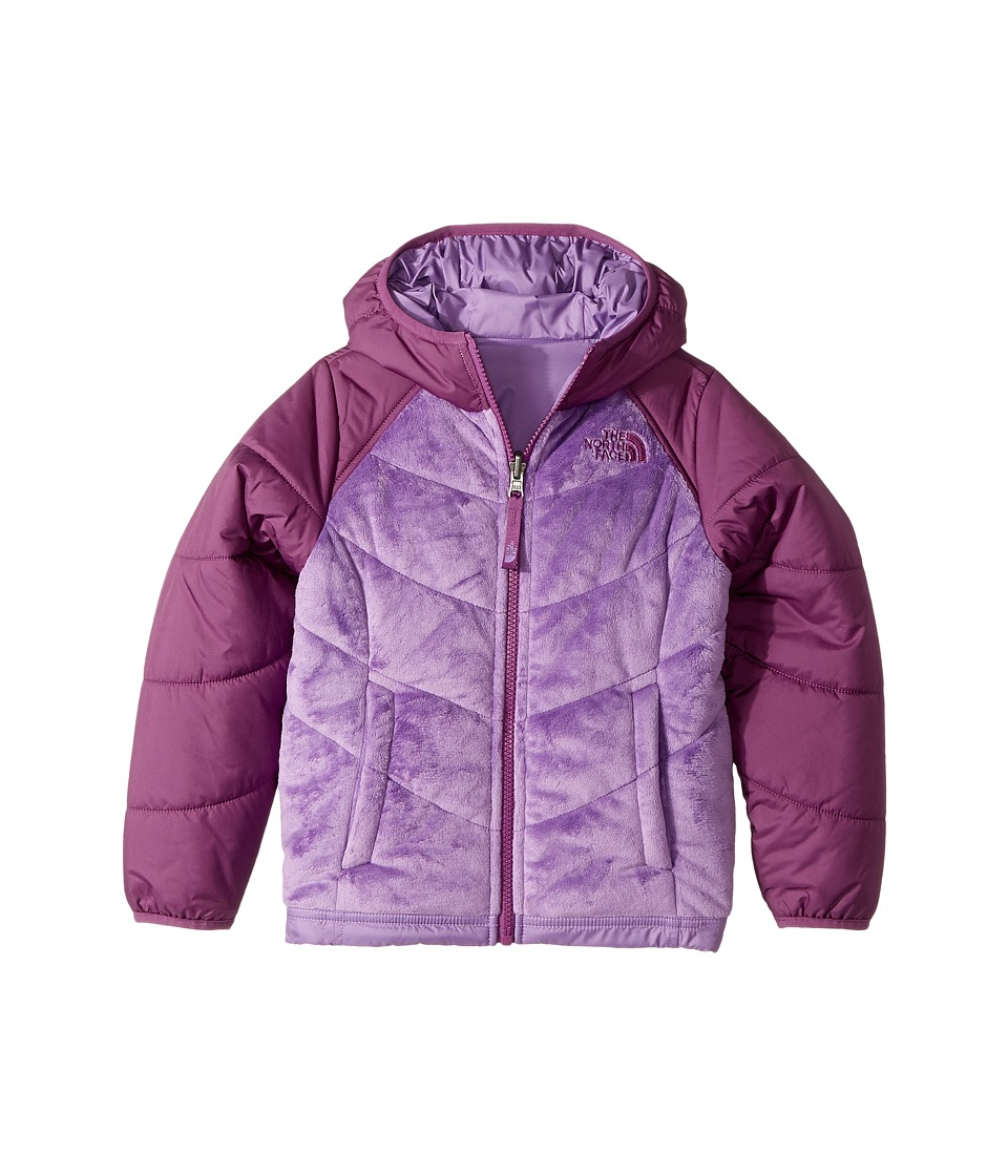 The North Face Kids - Reversible Perseus Jacket (Little Kids/Big Kids) (Bellflower Purple (Prior Season)) Girls Coat