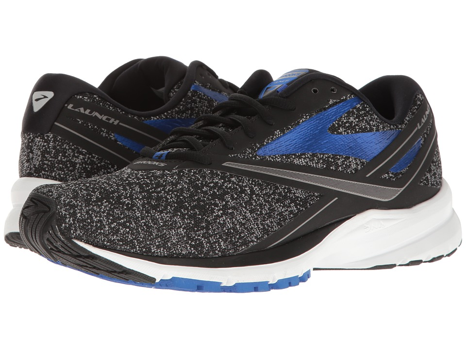 Brooks Launch 4 (Black/Anthracite/Electric Brooks Blue) Men