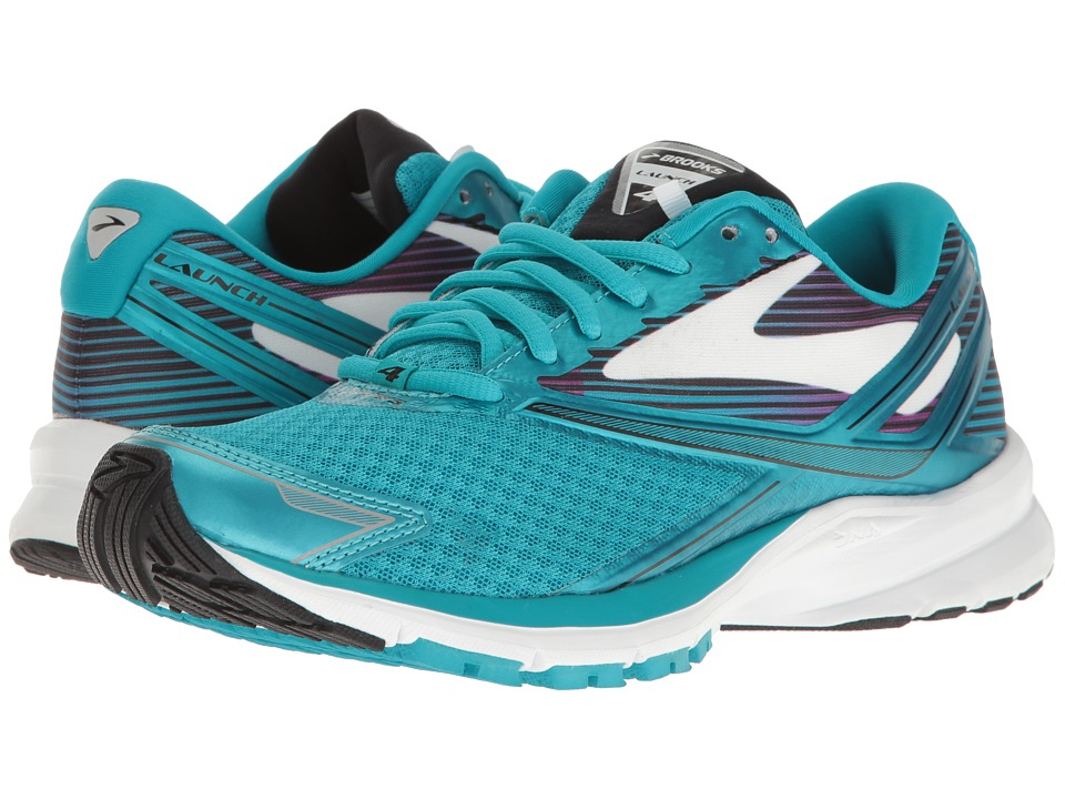Brooks Launch 4 (Teal Victory/White/Black) Women