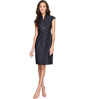 Calvin Klein - Button Front Denim Sheath Dress CD6D1Y61