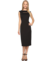 Calvin Klein - Cap Sleeve Midi Dress with Cut Out CD7M1X2X
