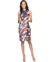 Calvin Klein - Blured Print Sheath Dress CD7C4903