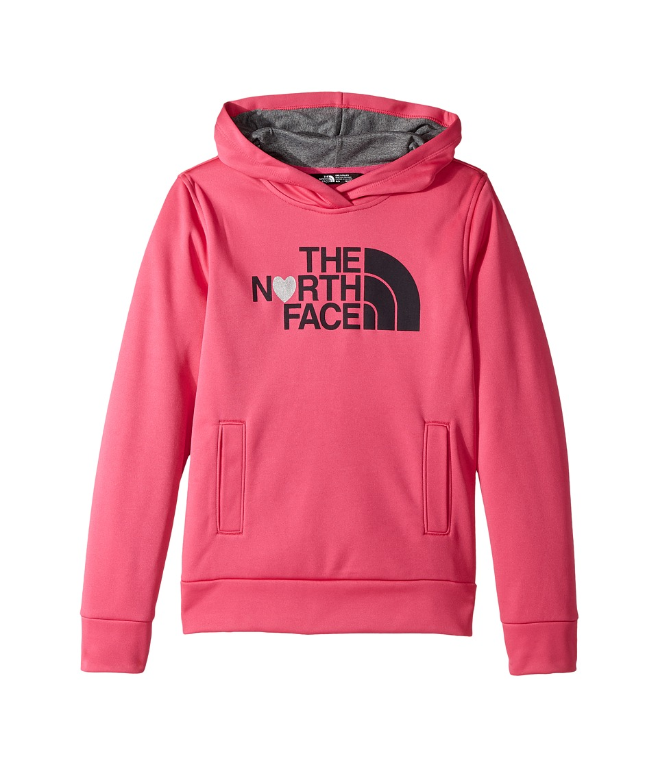 The North Face Kids Surgent Pullover Hoodie (Little Kids/Big Kids) (Petticoat Pink) Girl