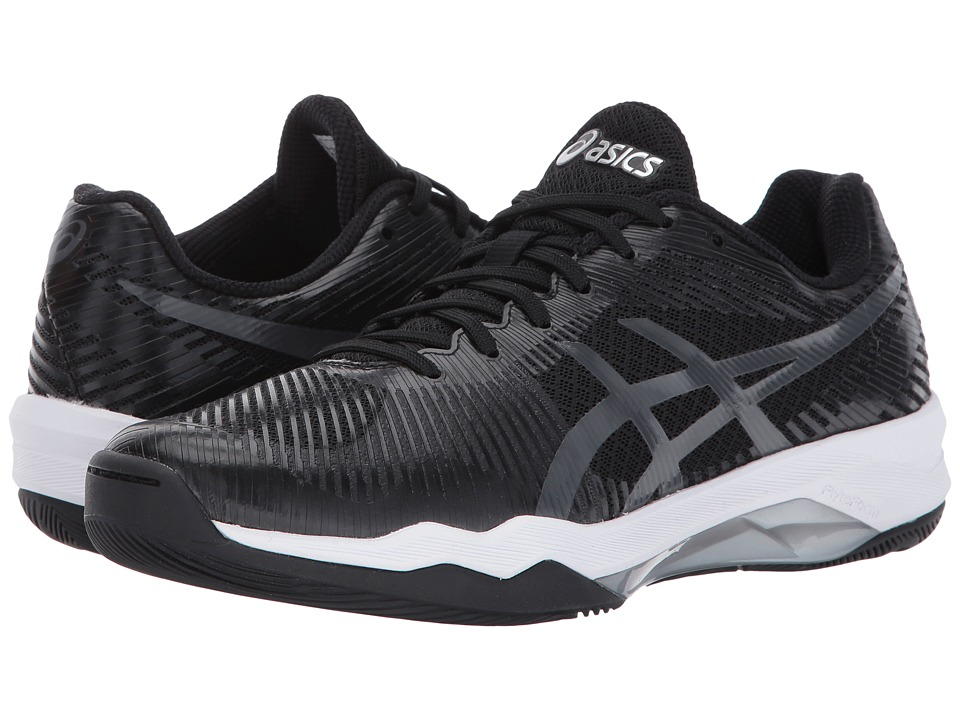 ASICS - Volley Elite FF (Black/Dark Grey/White) Womens Volleyball Shoes
