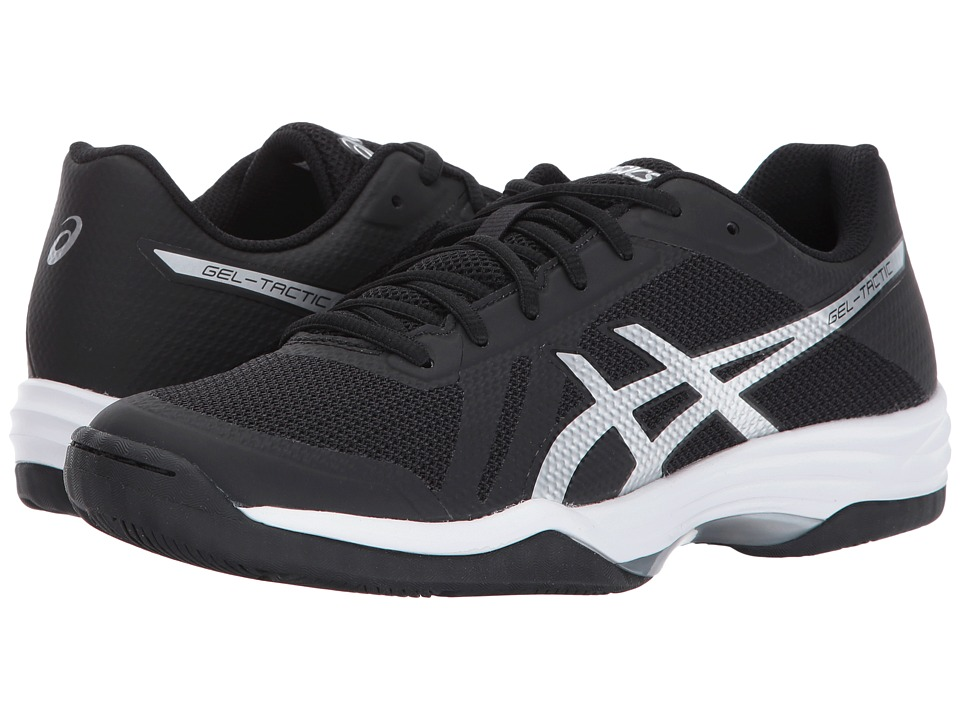 Asics Gel-Tactic 2 (Black/Silver/White) Women's Volleybal...