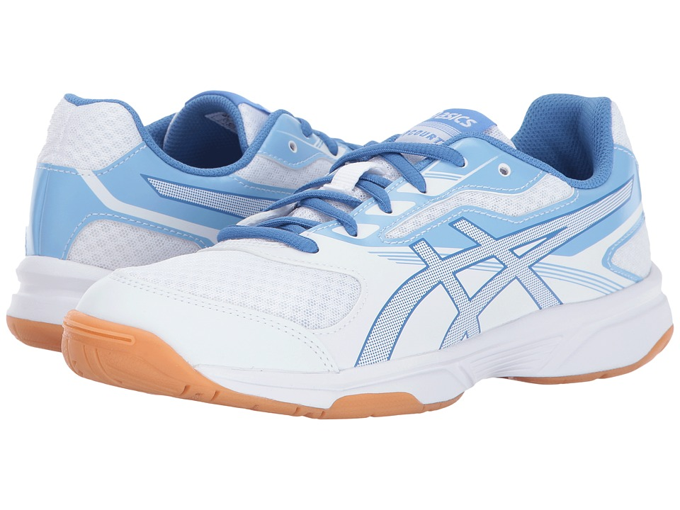 Asics Gel-Upcourt 2 (White/Regatta Blue/Airy Blue) Women'...