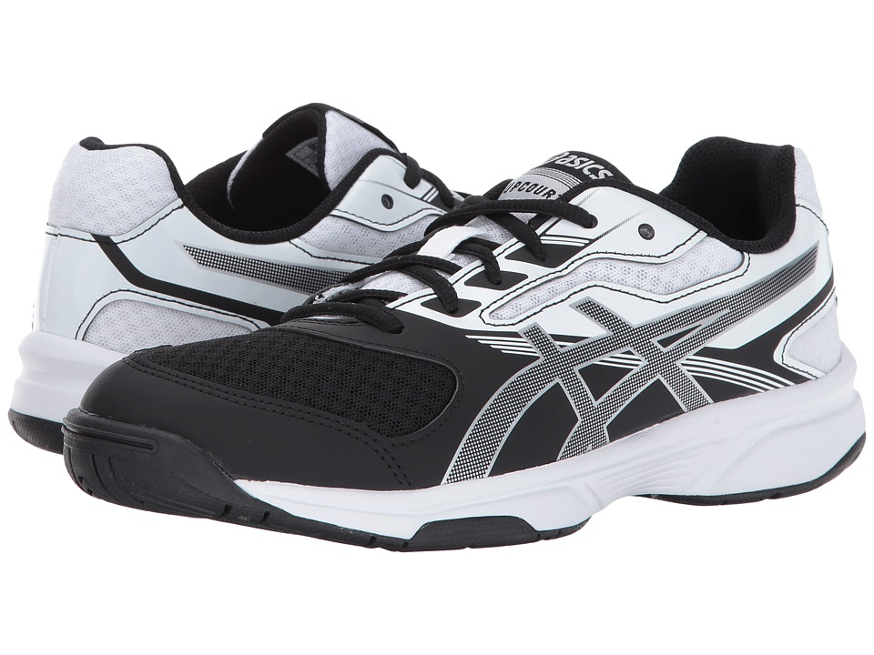 Asics Gel-Upcourt 2 (Black/Silver/White) Women's Volleyba...