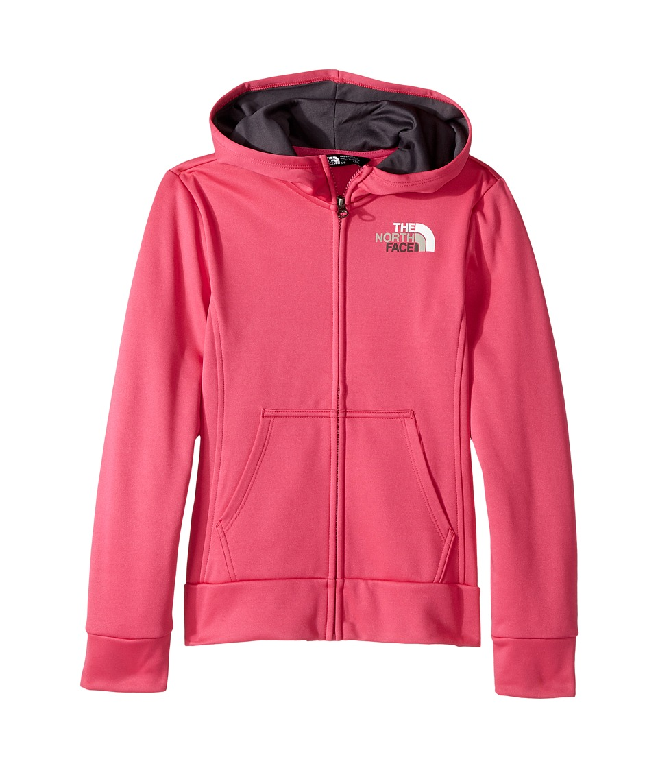 The North Face Kids - Surgent Full Zip Hoodie (Little Kids/Big Kids) (Petticoat Pink (Prior Season)) Girls Sweatshirt