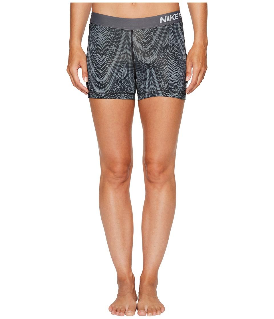 Nike Pro Training Short (Black/Cool Grey/Dark Grey/White) Women