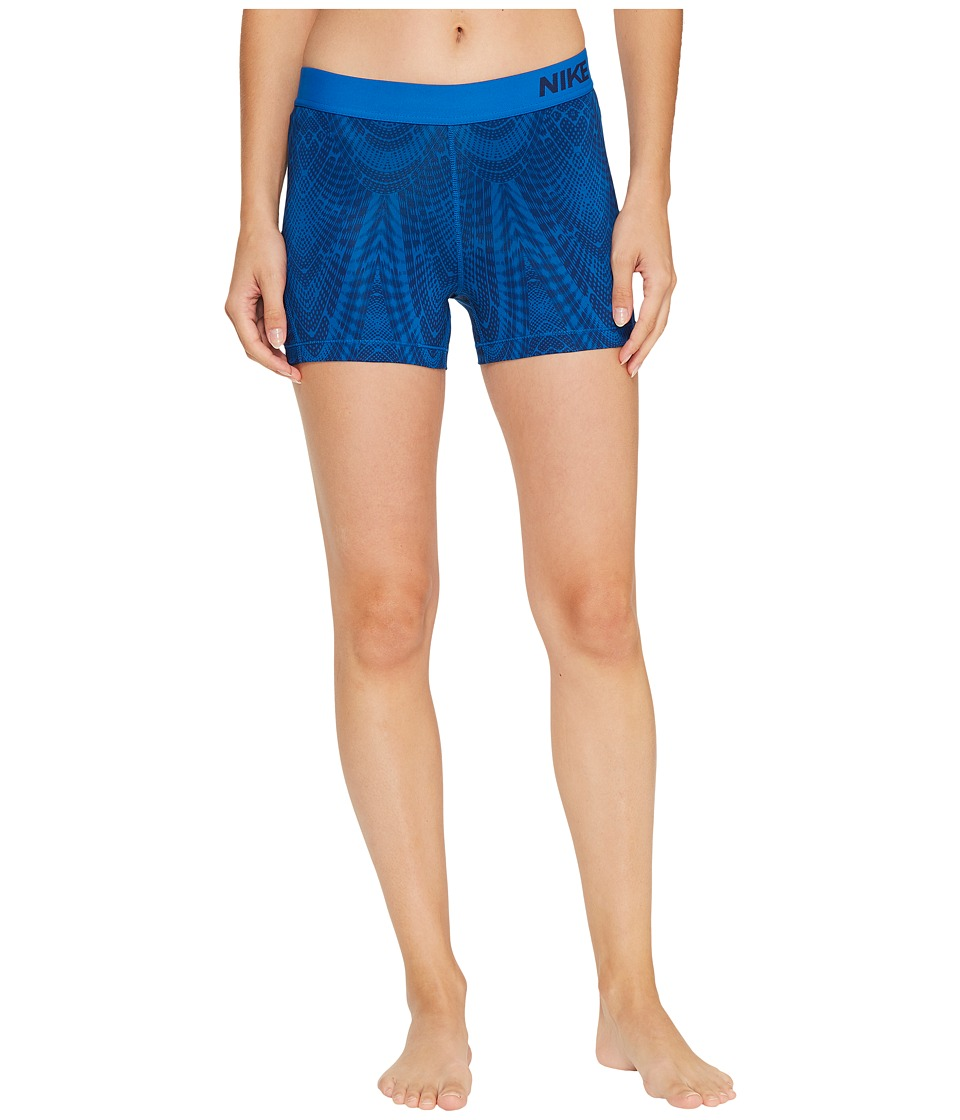 Nike Pro Training Short (Binary Blue/Blue Jay/Blue Jay) Women