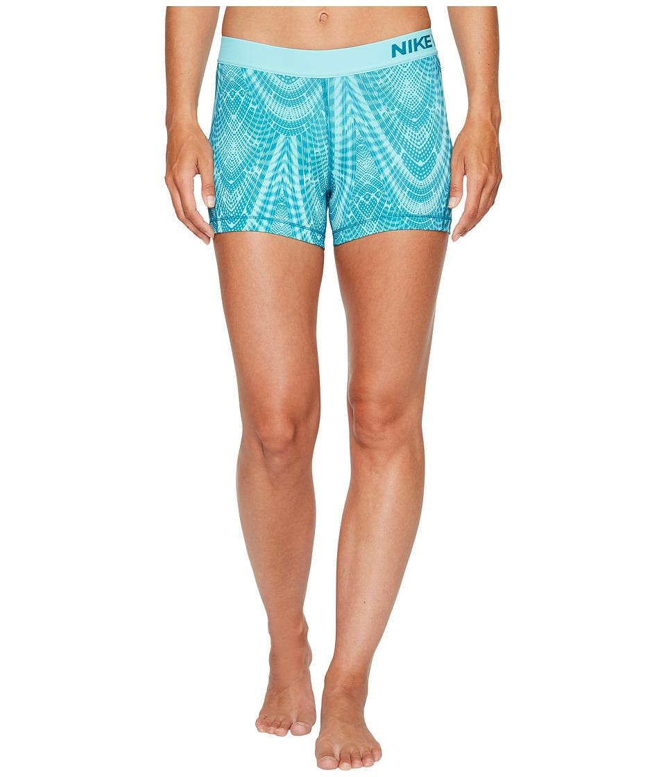 Nike Pro Training Short (Blustery/Light Aqua/Light Aqua) Women
