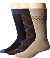 Florsheim - Limite 3-Pack Socks