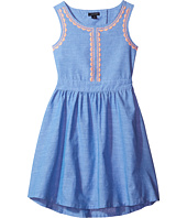 Tommy Hilfiger Kids - Chambray Embroidered Dress (Little Kids)