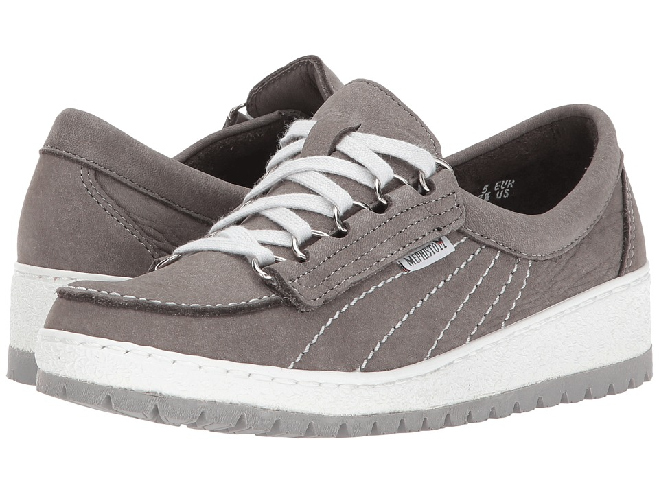 Mephisto Lady (Light Grey Sportbuck/Light Grey) Women