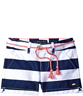 Tommy Hilfiger Kids - Rugby Stripe Shorts with Rope Belt (Little Kids)